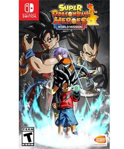 SWITCH Dragon ball Z Heroes Mission