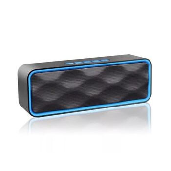 Bocina bluetooth 6W FM+SD+USB