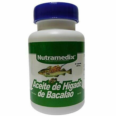Aceite de higado de Bacalao X90
