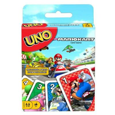 Juego UNO Mario Kart