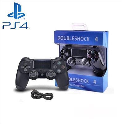 PS4 Control C/cable Negro