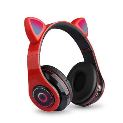 Audifonos bluetooth RGB con orejas
