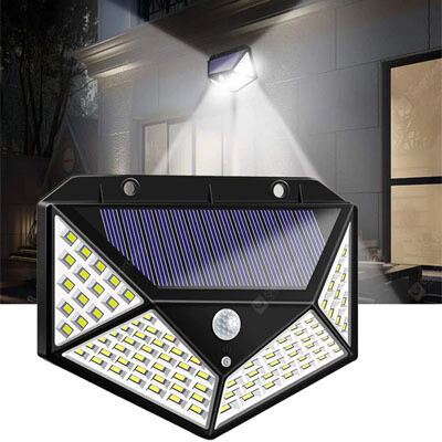 Lampara de 100 LED