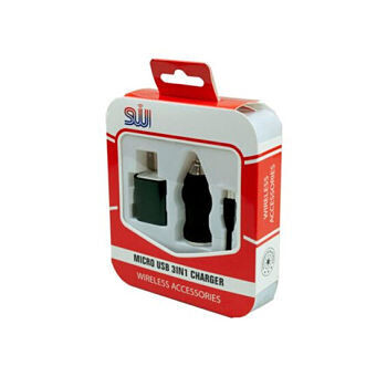 Kit Micro USB 3 en 1