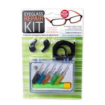 Kit para reparar anteojos
