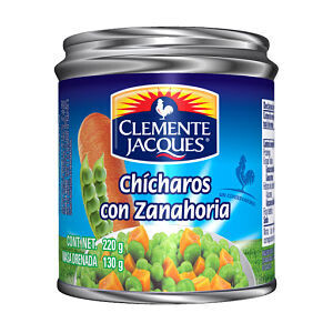 Chicharo C/ Zanahoria 220 Gr