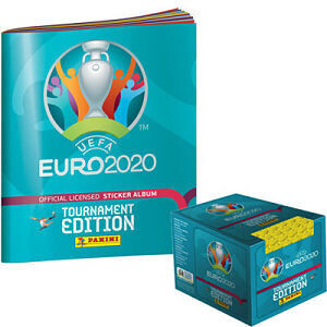 Caja de 50 estampas + Album Gratis UEFA 2020