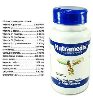 Multivitaminas (60 unidades)