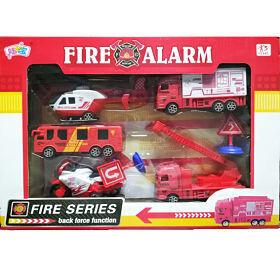 Set de Carros de bomberos