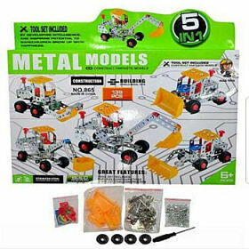 Tractor de Metal 5 en 1 (139 piezas)