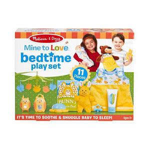 Melissa & Doug Set Bedtime (11 piezas)