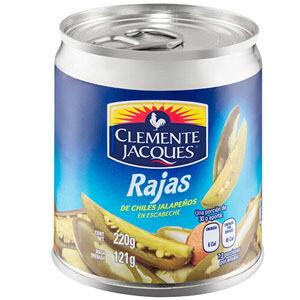 Chile Jalapeno en rajas 220 Gr