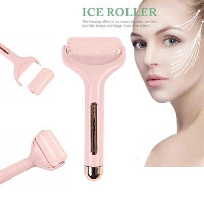 Rodillo/masajeador facial de Hielo