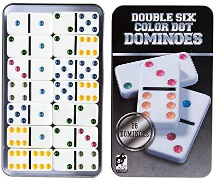 Domino Caja Metal (28 piezas)