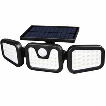 Lampara Solar 74 LED