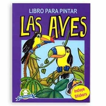 Libro Las Aves + Stickers