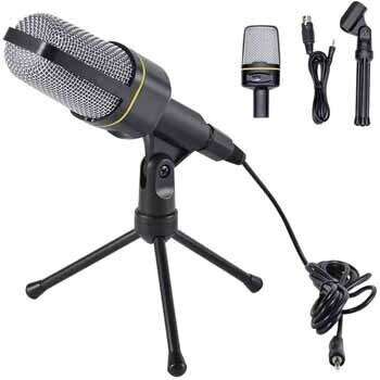 Microfono 3.5mm con base
