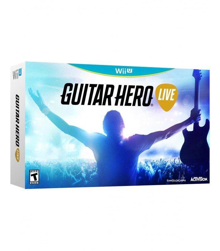 WiiU Guitar Hero Live + 1 guitarra (grande)