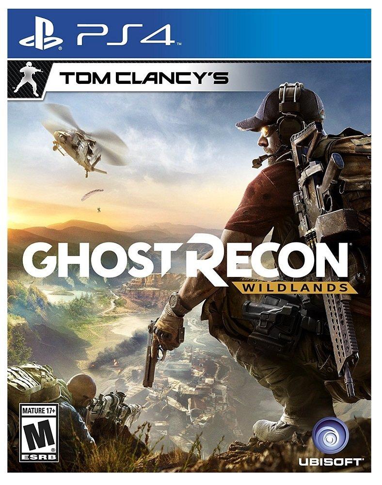 PS4 Ghost Recon Wildlands Tom Clancy