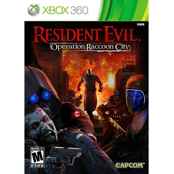 XBOX 360 Resident Evil Operation Racoon
