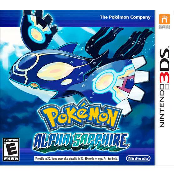 3DS Pokemon Alpha Sapphire
