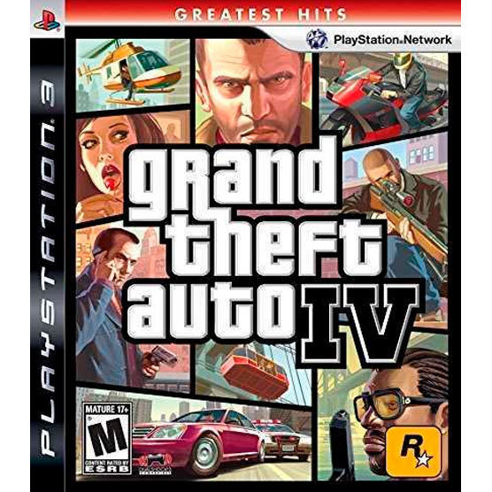 PS3 Grand Theft Auto IV GH