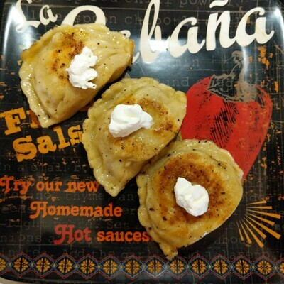 Pierogi of the Month- Chicken Fajita