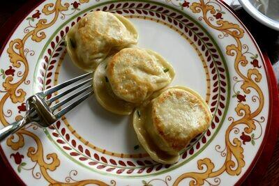 Pierogi of The Month - Spinach Artichoke Dip