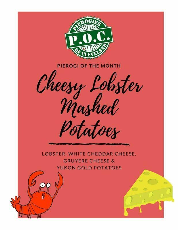Pierogi of the Month - Cheesy Lobster Mashed Potato