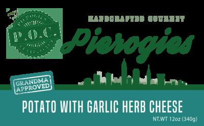 Potato with Garlic Herb White Cheddar
