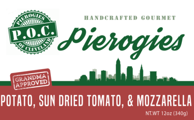 Potato, Mozzerella and Sundried Tomato
