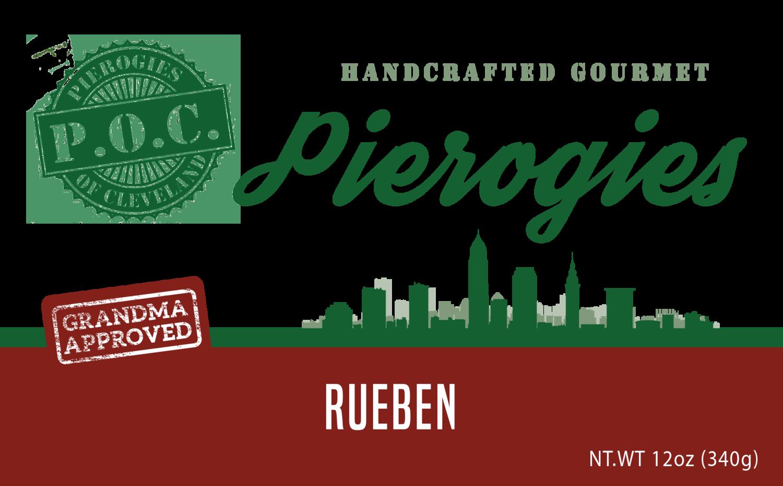Pierogi of the Month - Reuben