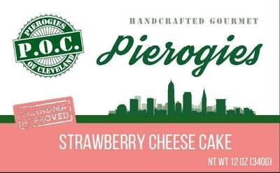 Pierogi of the Month- Strawberry Cheesecake