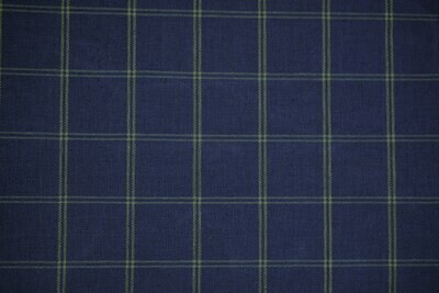 Plaid-Royal Blue/Yellow