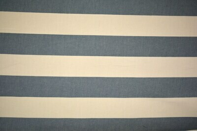 wide Stripe-Blue/Off White