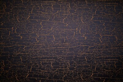 Antique Crackle-Blue/Gold (Dark Royal Blue Background)