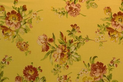 Bennison-Yellow Base Floral