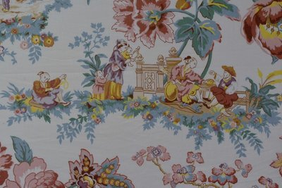 Oriental Garden-Floral Multi