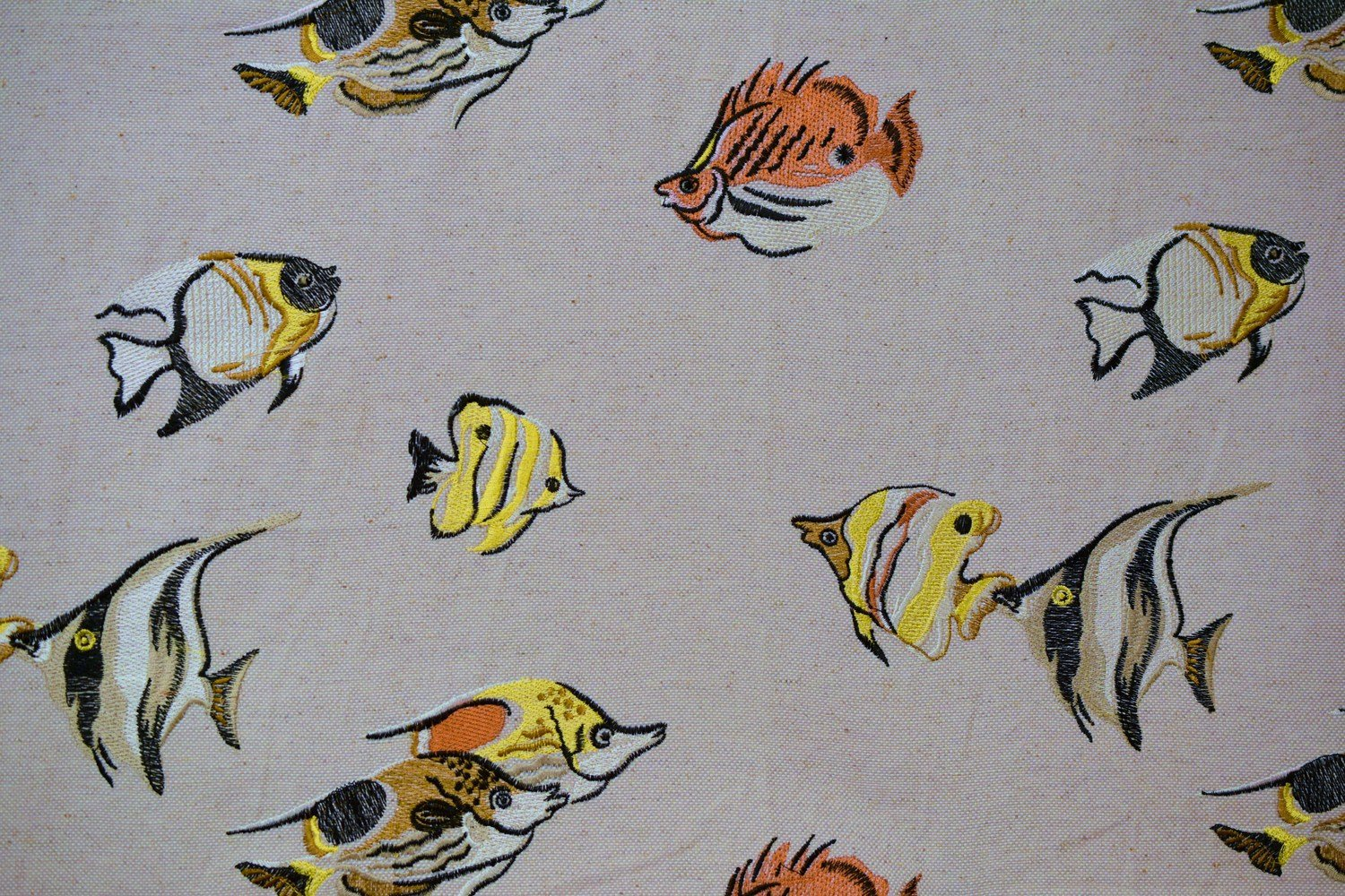 Fish One-Multi Embroidery