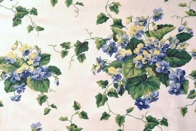 Sweet Violets-Whi/Grn/Violet