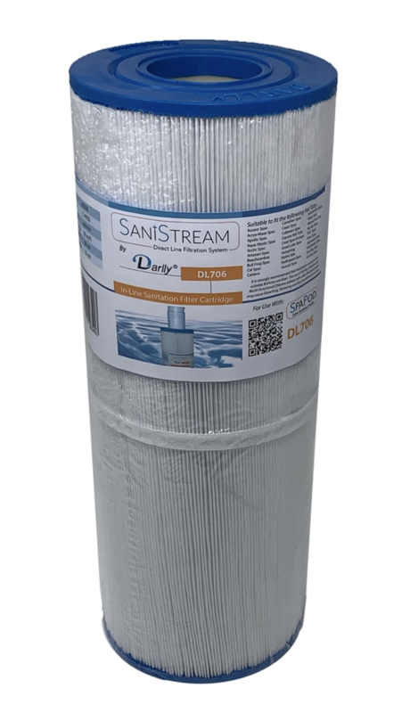 DL706 Sanistream Direct Line Spa Filter