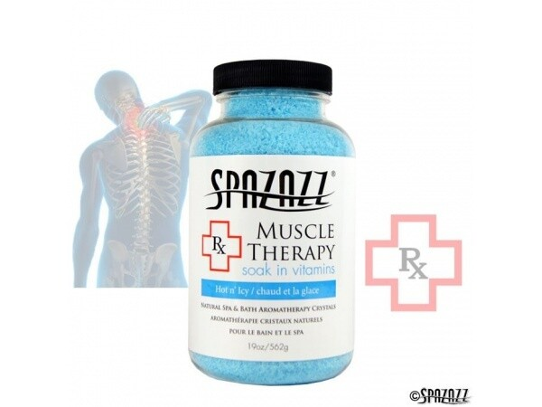 Spazazz Rx Muscular Therapy Hot n Icy 19oz