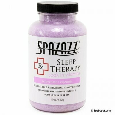 Spazazz Rx Crystals 19oz - Sleep Therapy: Insomnia