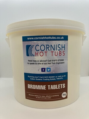 5 KG Bromine Tablets