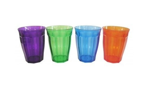 Coloured Acrylic Tumblers