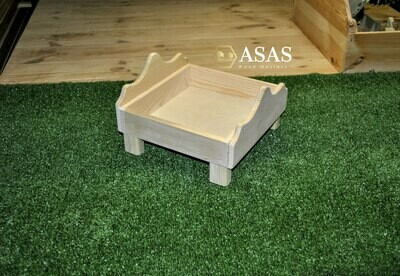 Wooden bed for guinea pig, chinchilla