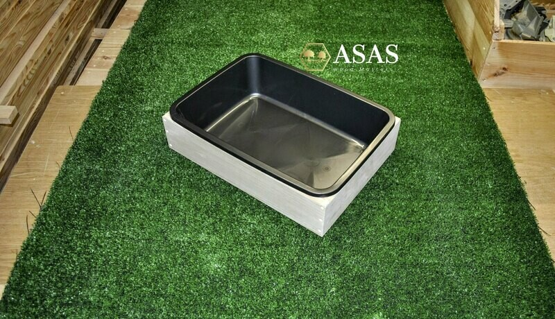 Extra Litter Box with litter pan
