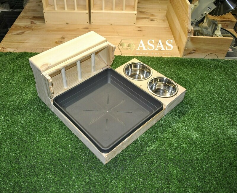 Hay Feeder With Litter Box