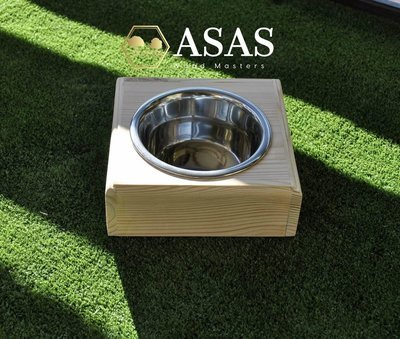 Rabbit Food bowl stand