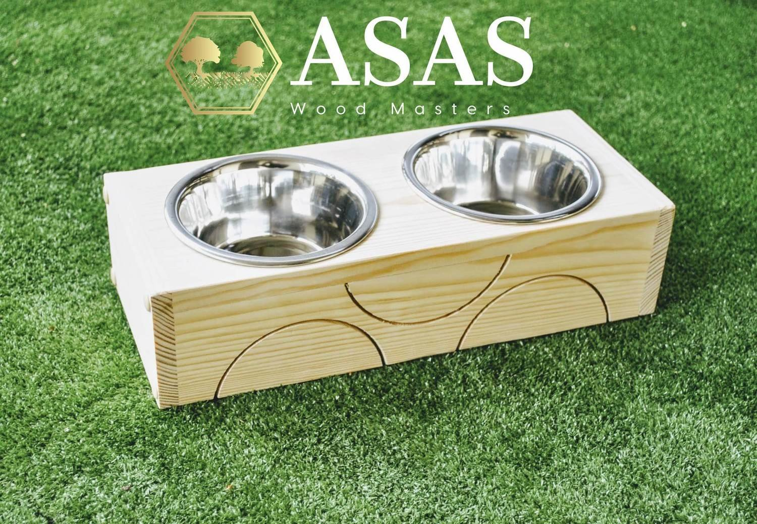 Chinchilla, Guinea Pig, Rabbit Food and Drink bowls stand